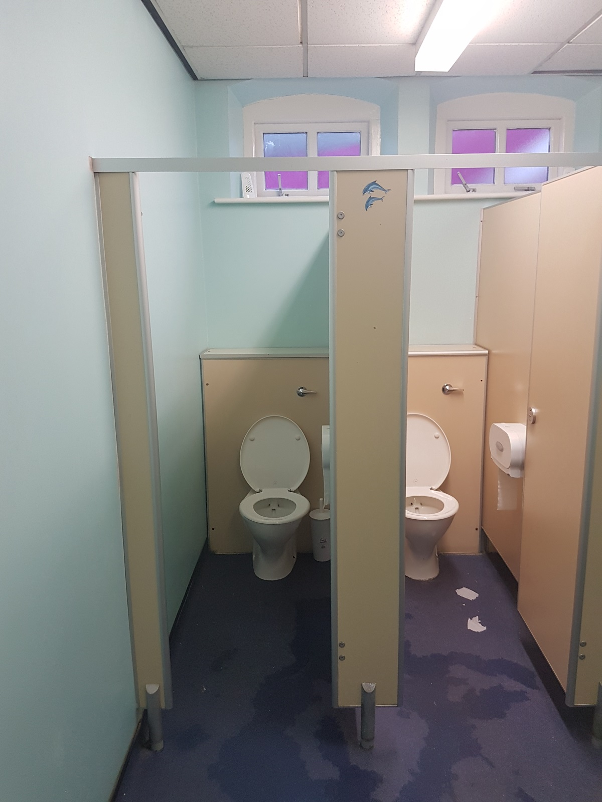 Sparkling new School Toilets