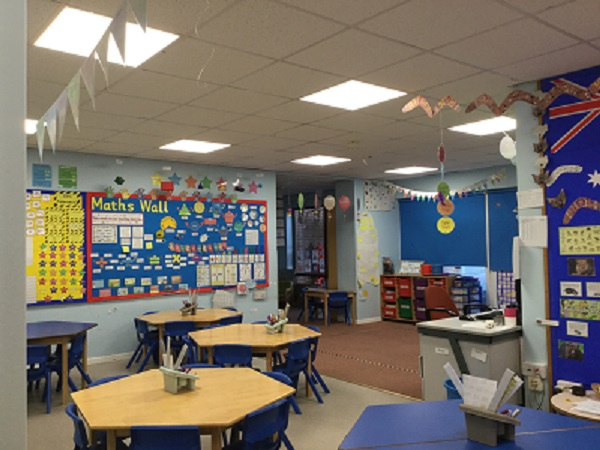School LED Lighting Upgrade via Salix Loan