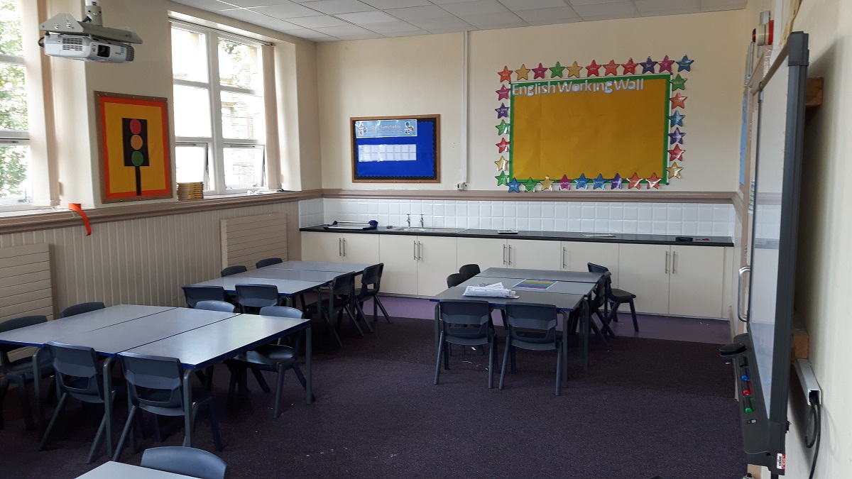 Classroom Makeover Creates More Space!