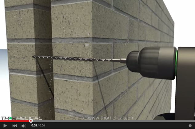 Thor Helical Cavity Wall Ties